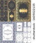set of vintage design elements. ...   Shutterstock .eps vector #1605022135