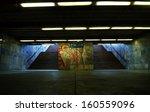 Graffiti Subway Stairs