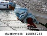 figurehead of a sailing ship   Shutterstock . vector #160565255