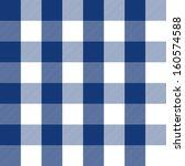 blue plaid pattern | Shutterstock .eps vector #160574588