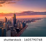 Aerial View Of Chicago From...