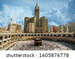 Skyline Of Mecca Saudi Arabia...