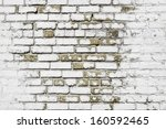 White Brick Wall For Background ...