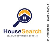 find real estate  find property ... | Shutterstock .eps vector #1605956935