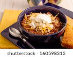 Elk Meat Chili With Beans  Sou...