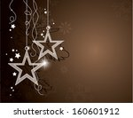 christmas background. vector... | Shutterstock .eps vector #160601912