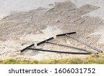 Rake In Sand Bunker At Golf...