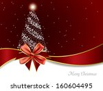 christmas background. abstract... | Shutterstock .eps vector #160604495