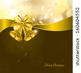 christmas background. abstract... | Shutterstock .eps vector #160604552