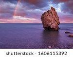 Love Beach. Aphrodite's Rock  ...