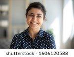 Cheerful Beautiful Indian Girl...