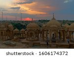 Bada Bagh or Barabagh, means Big Garden, is a garden complex in Jaisalmer, Rajasthan, India, for Royal cenotaphs, or chhatris, of Maharajas means Kings of Jaisalmer state. Tourist attraction.