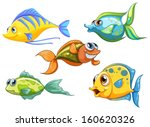 illustration of the five... | Shutterstock .eps vector #160620326