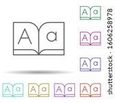 editorial  font  book multi...