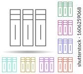 editorial  volumes multi color...
