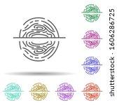 identity protection multi color ...
