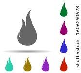 fire  flame in multi color...