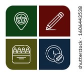 plain simple icons set....