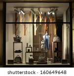 Boutique Window With Shoes ...