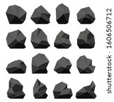 rock stones in a flat style....   Shutterstock .eps vector #1606506712