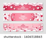 happy valentine's day... | Shutterstock .eps vector #1606518865