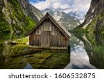 A Wooden Cabin  Used As A...