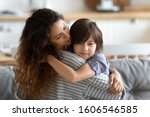 school age frustrated son...   Shutterstock . vector #1606546585