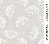 gray french linen texture... | Shutterstock .eps vector #1606563775