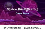cartoon fantasy space... | Shutterstock .eps vector #1606589032
