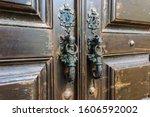 Seahorse Shaped Door Handles O...