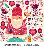 merry christmas and happy new... | Shutterstock .eps vector #160662302