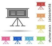 stand  board in multi color...