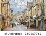 bayeux  france   december 27 ... | Shutterstock . vector #160667762