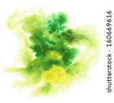 abstract watercolor hand... | Shutterstock .eps vector #160669616