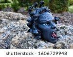 Medusa Greek Mythology Head...