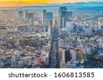 Japan. The Tokyo Panorama With...