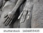 Details Of A Human Hand On A...