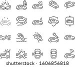 set of car icons  autocare ... | Shutterstock .eps vector #1606856818