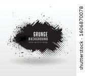 vector grunge abstract... | Shutterstock .eps vector #1606870078