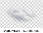 vector realistic isolated cloud ... | Shutterstock .eps vector #1606880938