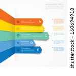 vector infographic composition. | Shutterstock .eps vector #160694918
