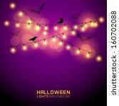 Warm Glowing Halloween Lights....