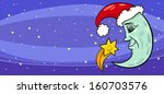 greeting card cartoon vector... | Shutterstock .eps vector #160703576