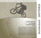 cycling. vector illustration | Shutterstock .eps vector #160705826