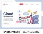 cloud service solution landing...