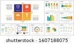 set of creative business... | Shutterstock .eps vector #1607188075