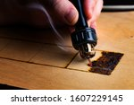 Pyrography. Wood Burning With...