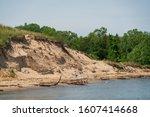 Erosion At The Coastline Of...