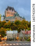 Cityscape Of Quebec Lower Old...