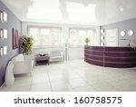a reception area  modern... | Shutterstock . vector #160758575